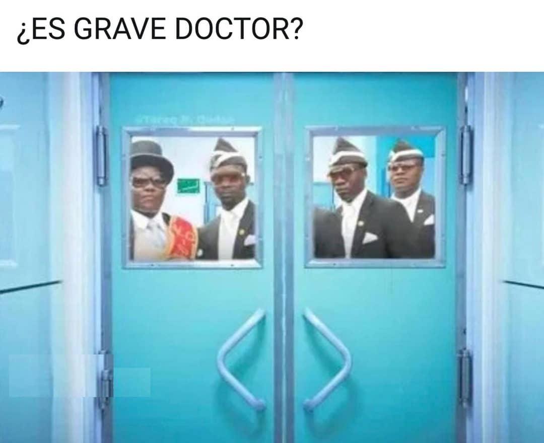 Es grave, doctor?