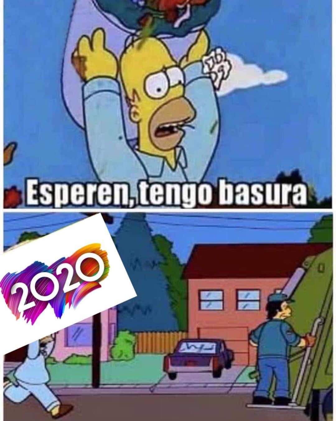 Esperen, tengo basura.  2020.