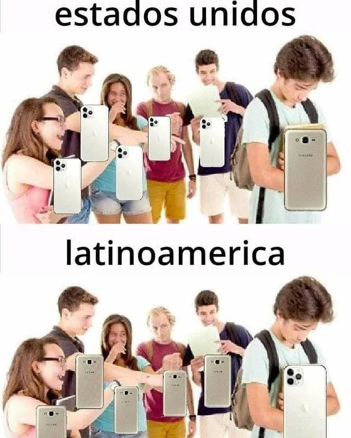 Estados Unidos. Latinoamérica.
