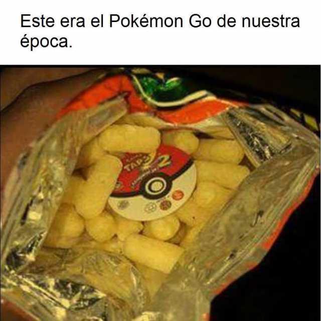 Este era el Pokémon Go de nuestra época.