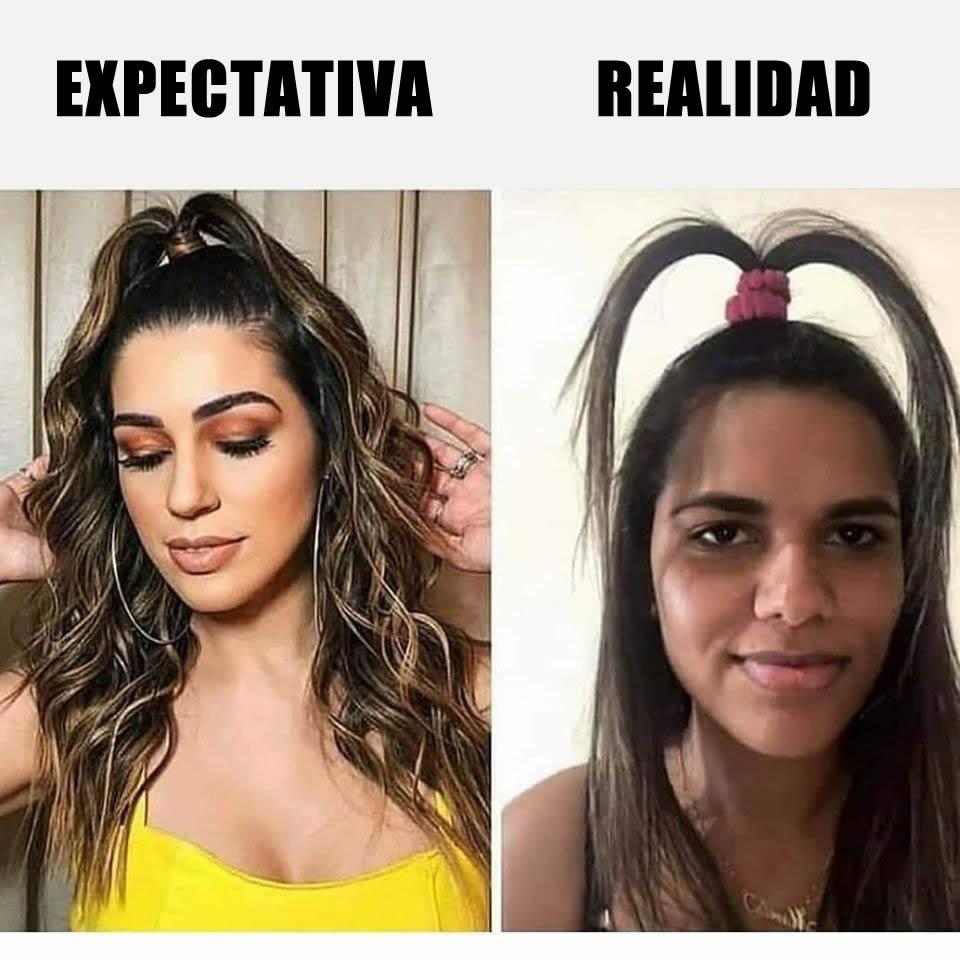Expectativa // Realidad
