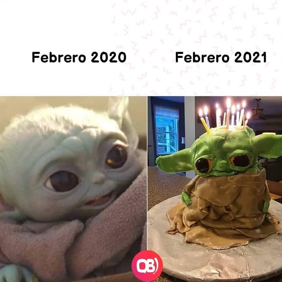 Febrero 2020. / Febrero 2021.
