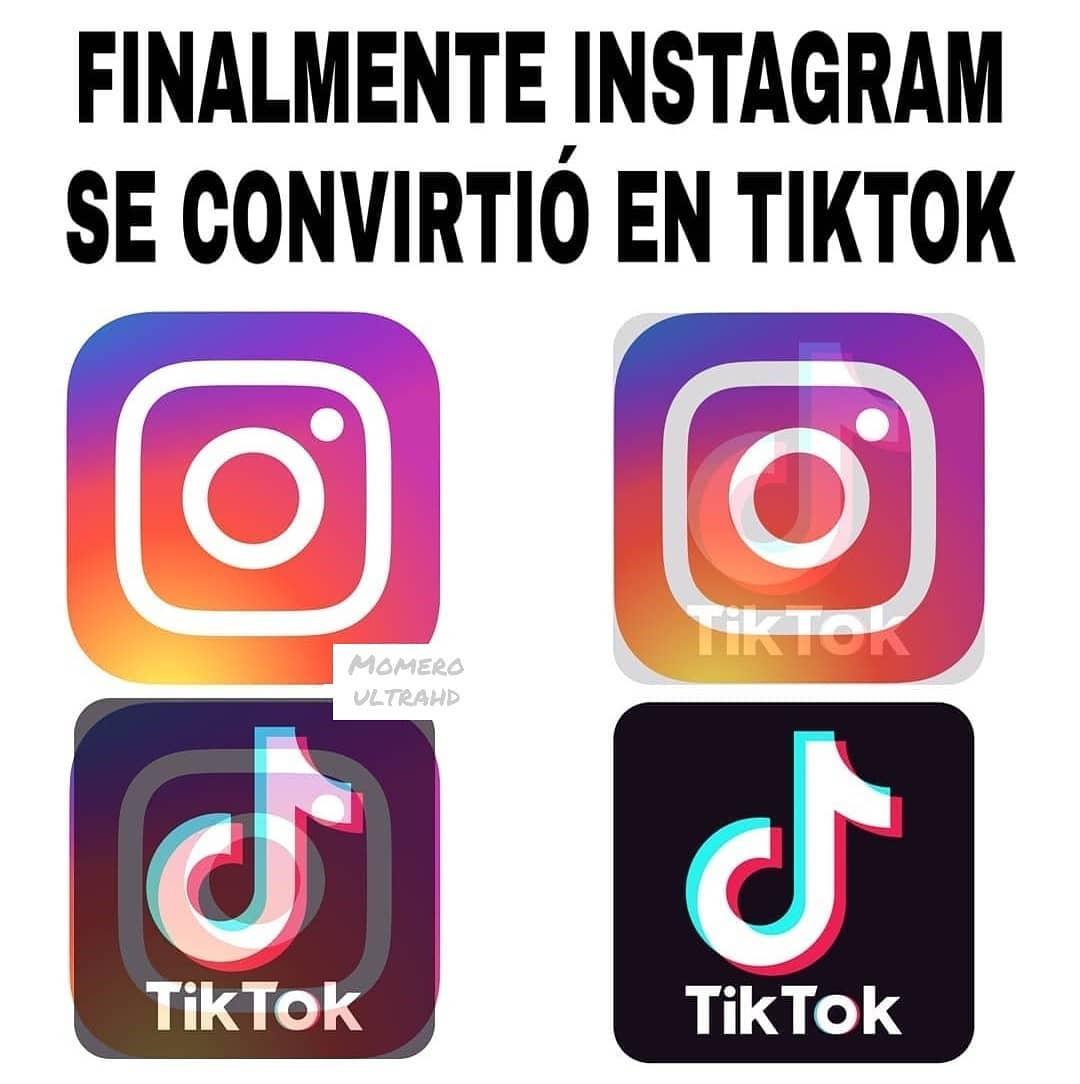 Finalmente Instagram se convirtió en Tiktok.