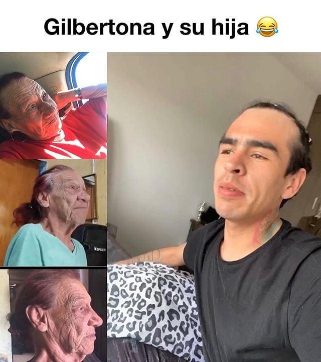 Gilbertona y su hija.