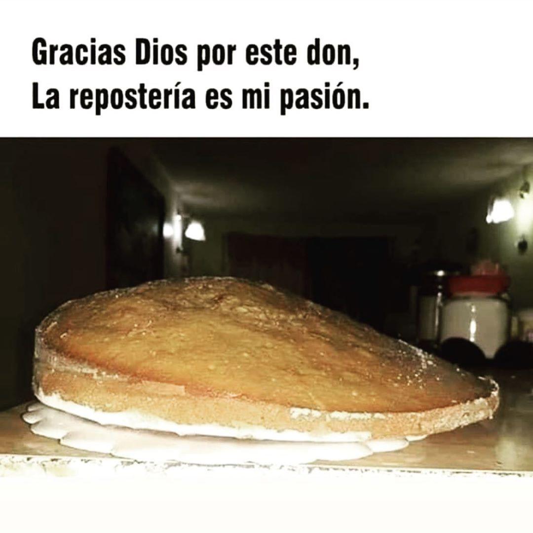 Gracias Dios por este don, la repostería es mi pasión.