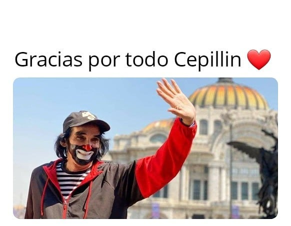 Gracias por todo Cepillin.