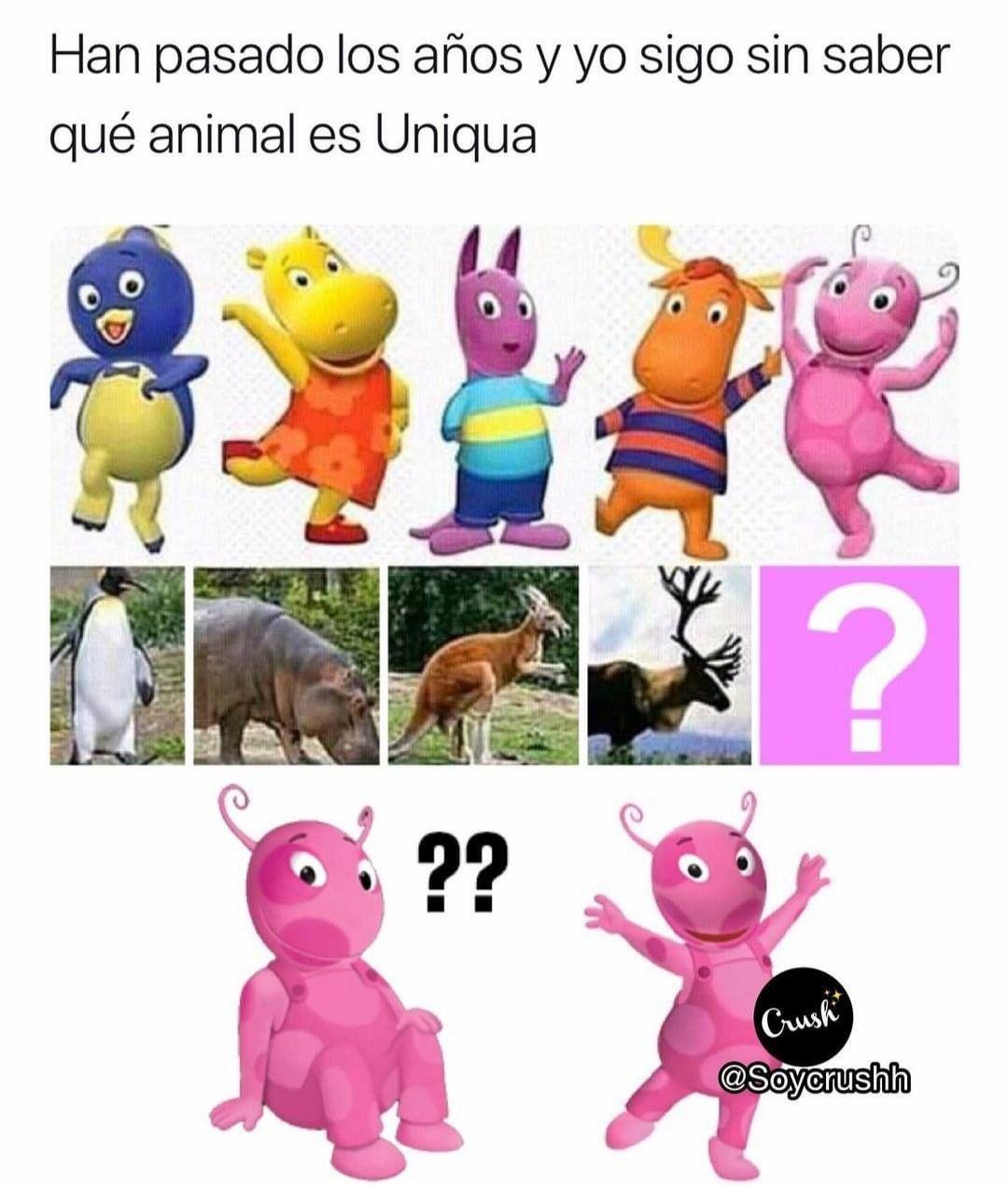 Han pasado los años y yo sigo sin saber qué animal es Uniqua.