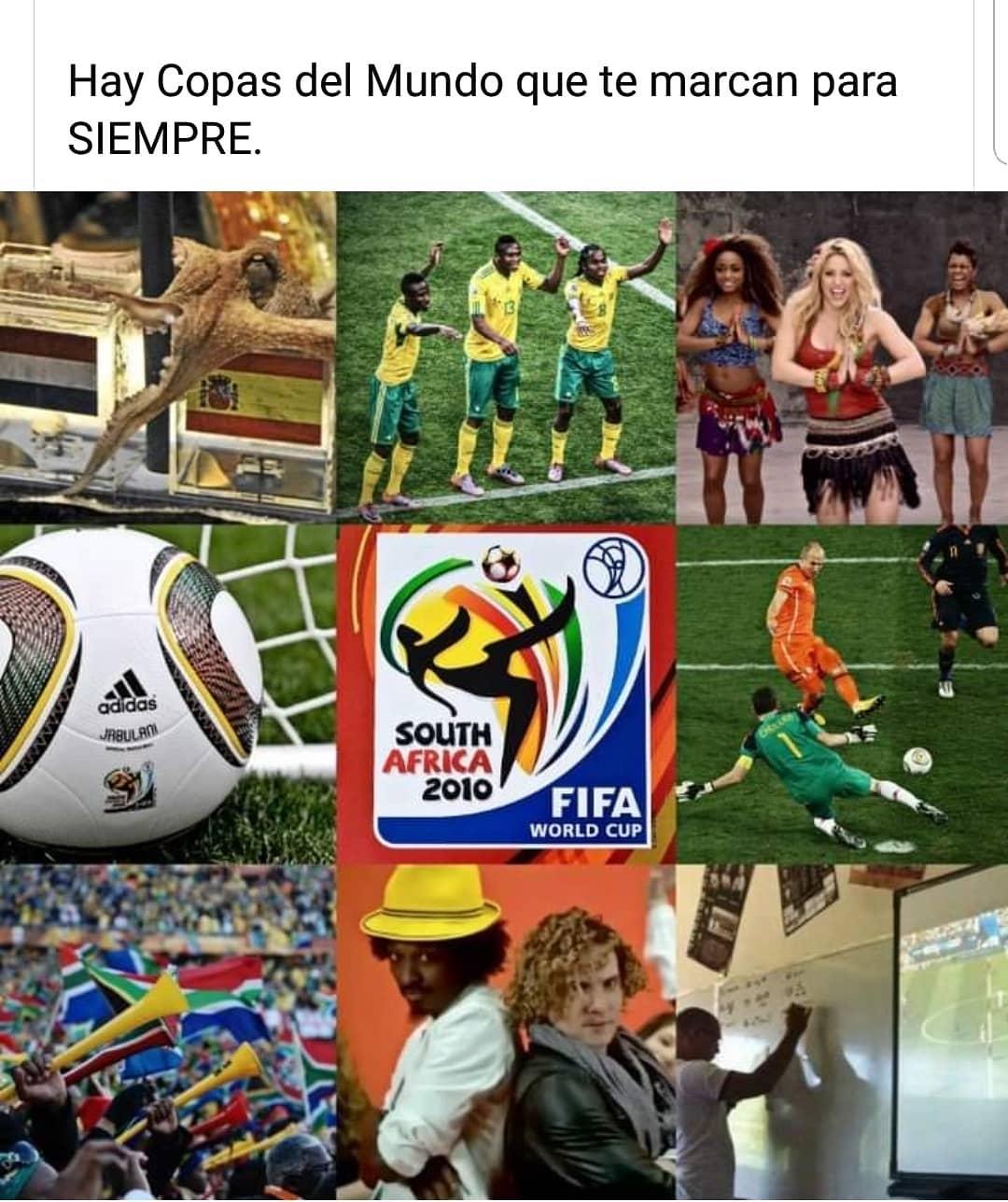 Hay Copas del Mundo que te marcan para siempre.