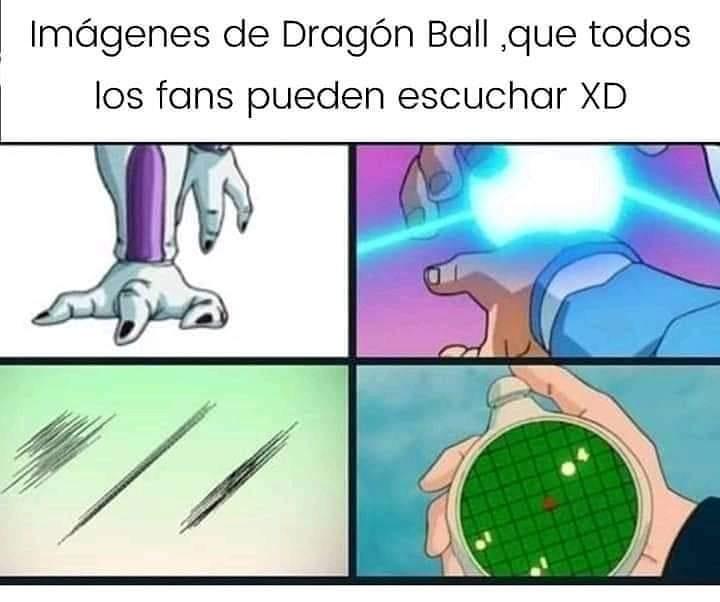 Imágenes de Dragón Ball, que todos los fans pueden escuchar.