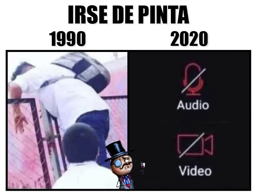 Irse de pinta. 1990. 2020. Audio. Video.