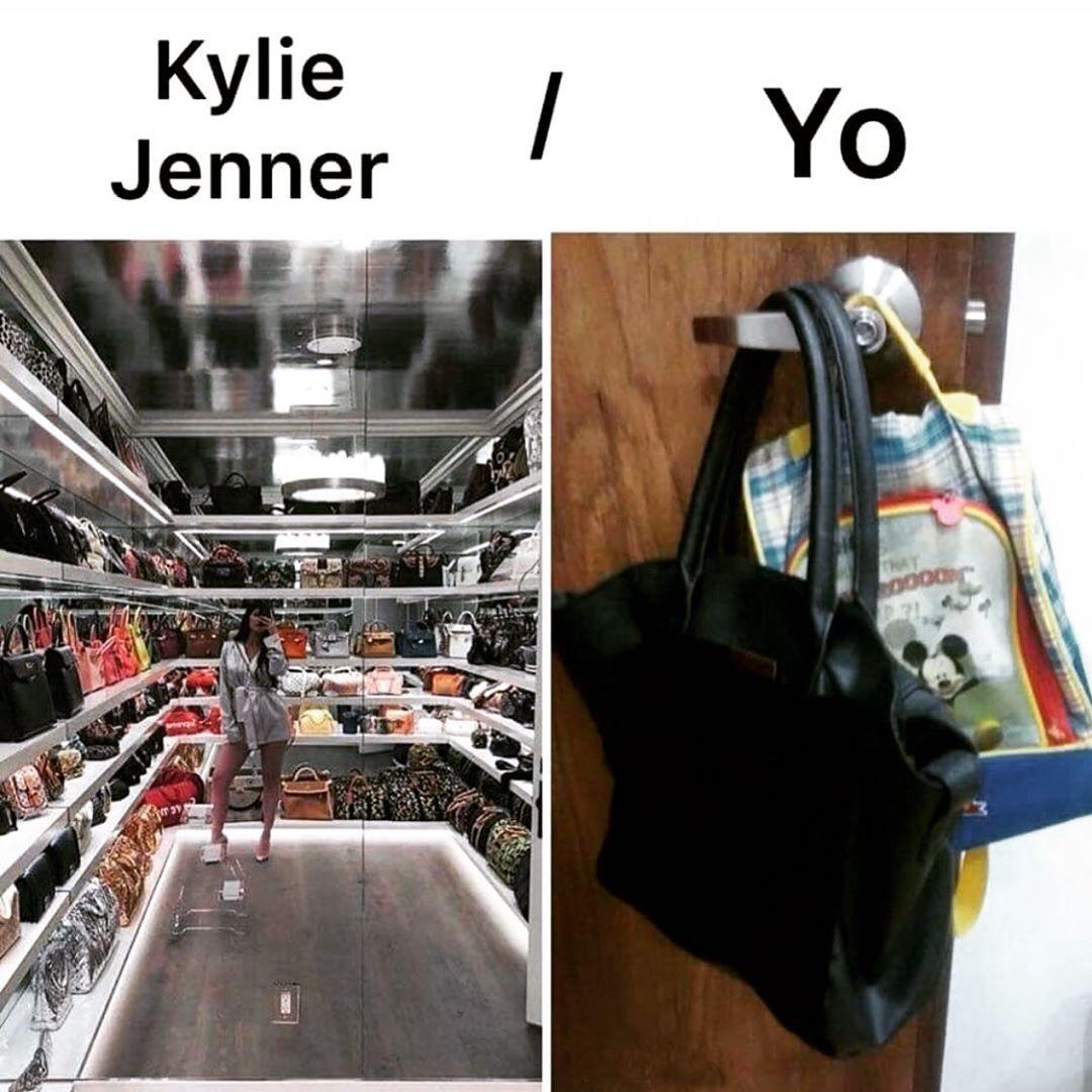 Kylie Jenner. / Yo.