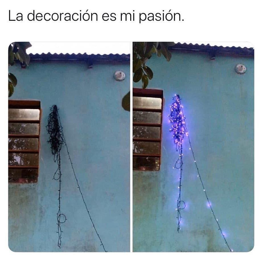 La decoración es mi pasión.