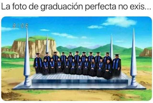 La foto de graduación perfecta no exis...