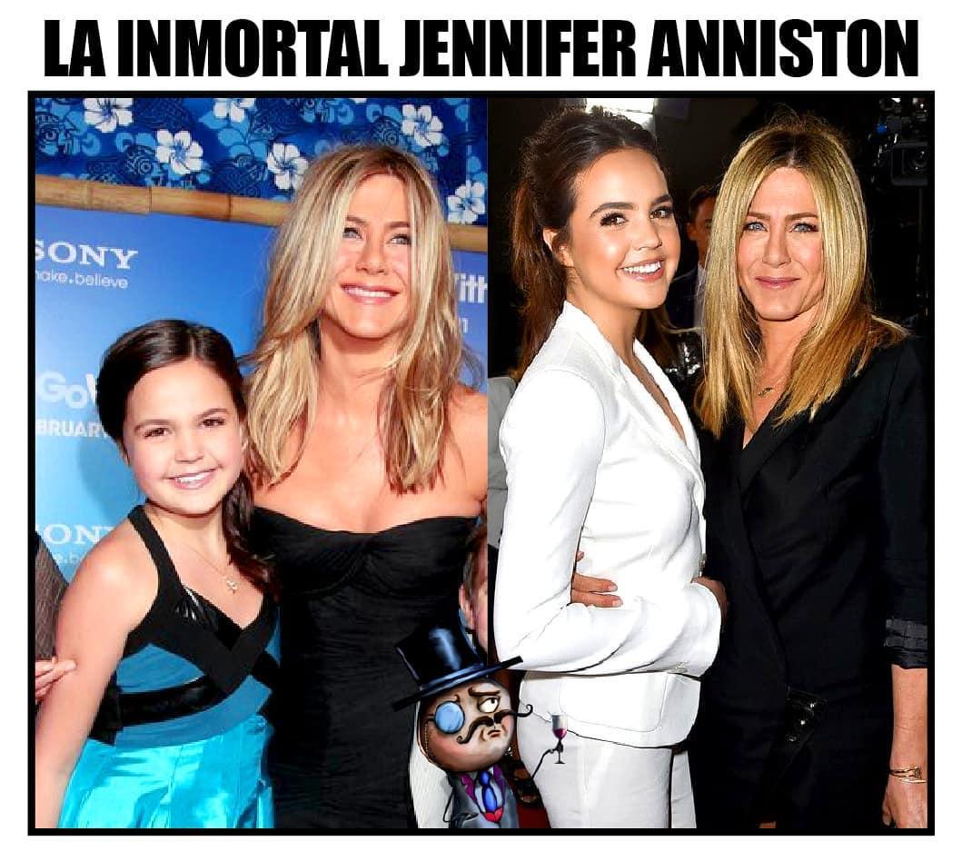 La inmortal Jennifer Anniston.
