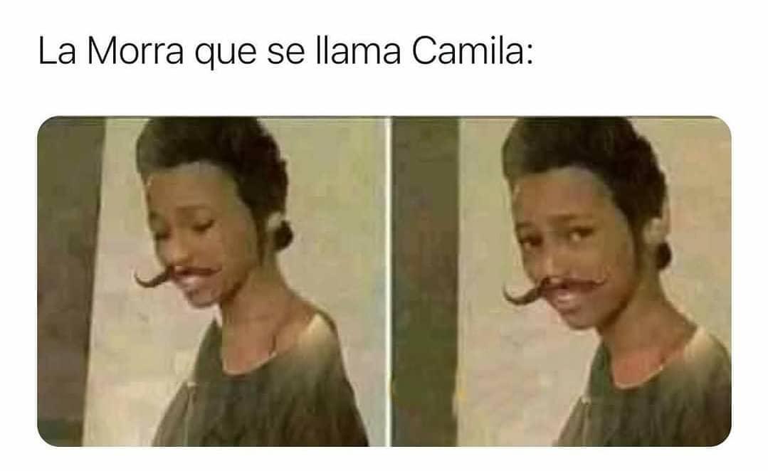 La morra que se llama Camila: