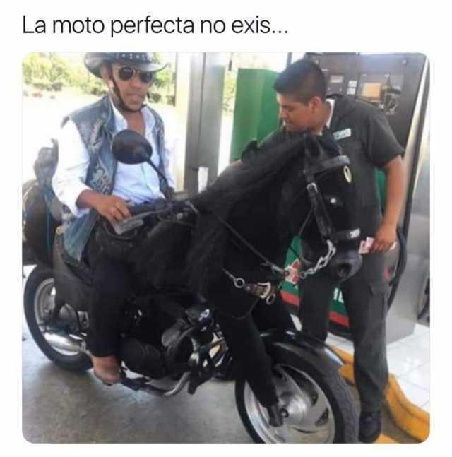 La moto perfecta no exis...