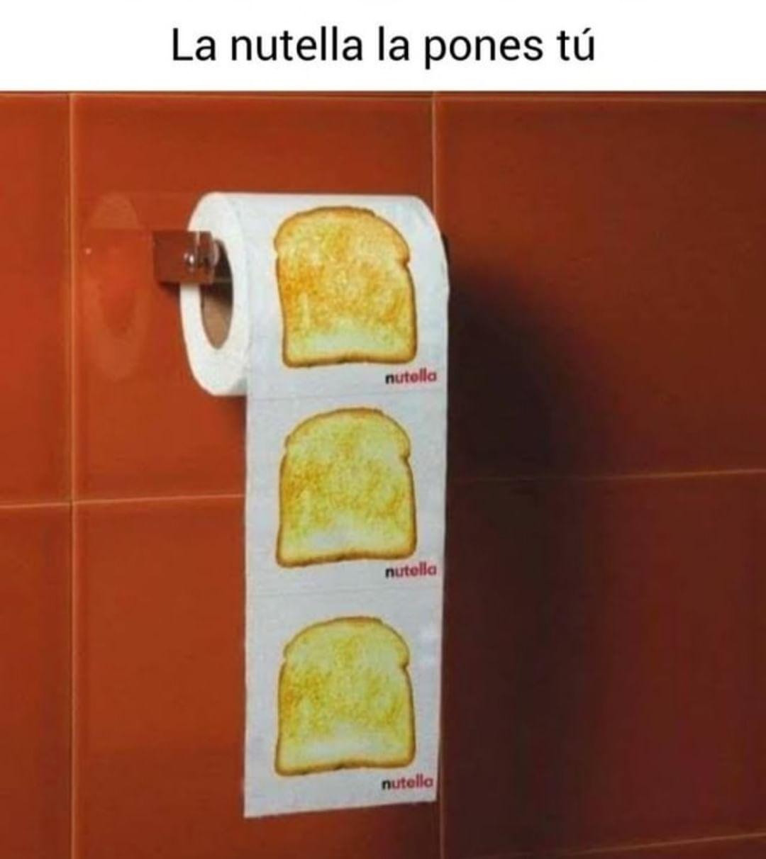 La Nutella la pones tú.