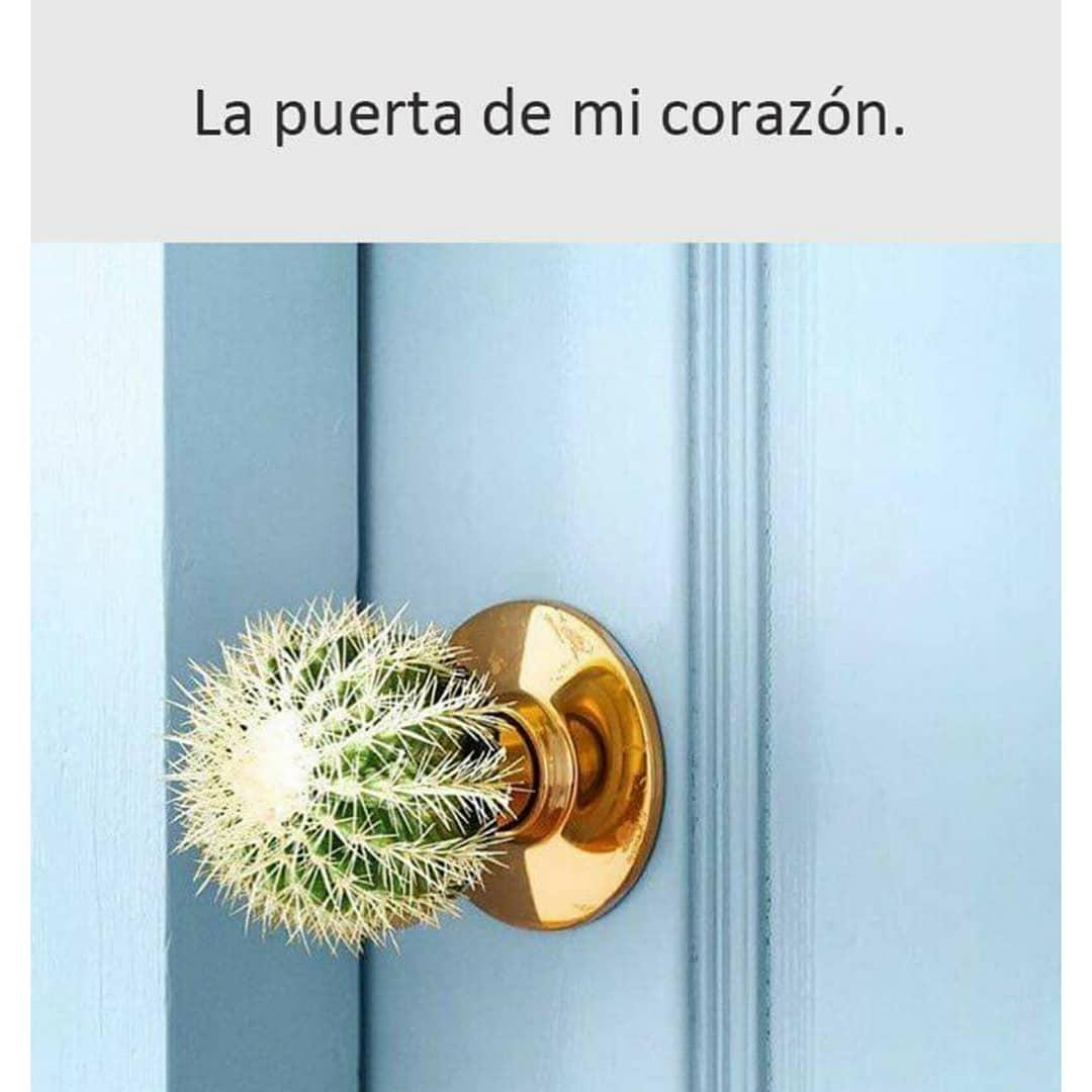 La puerta de mi corazón.