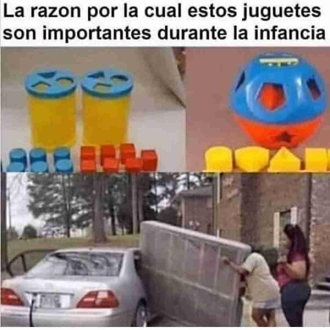 La razón por la cual estos juguetes son importantes durante la infancia.