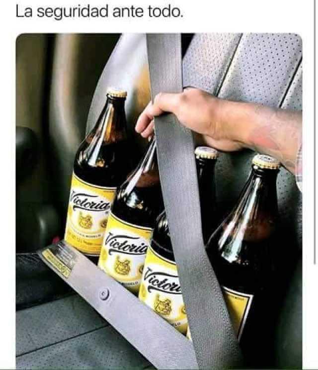 La seguridad ante todo.