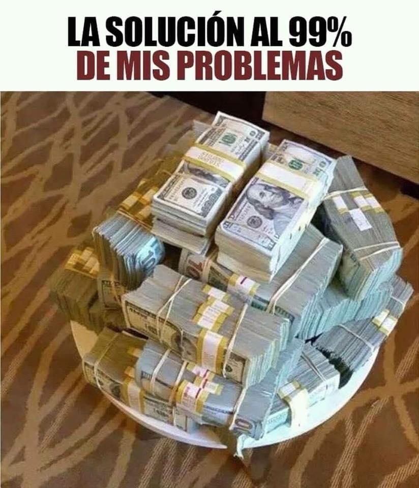 La solución al 99% de mis problemas.
