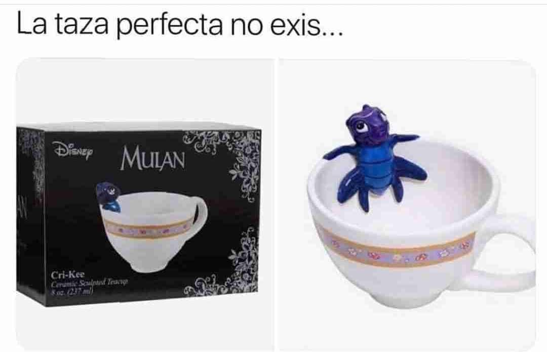 La taza perfecta no exis...