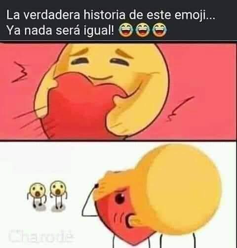 La verdadera historia de este emoji... Ya nada será igual!