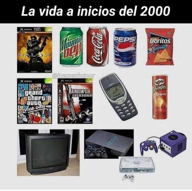 La vida a inicios del 2000.