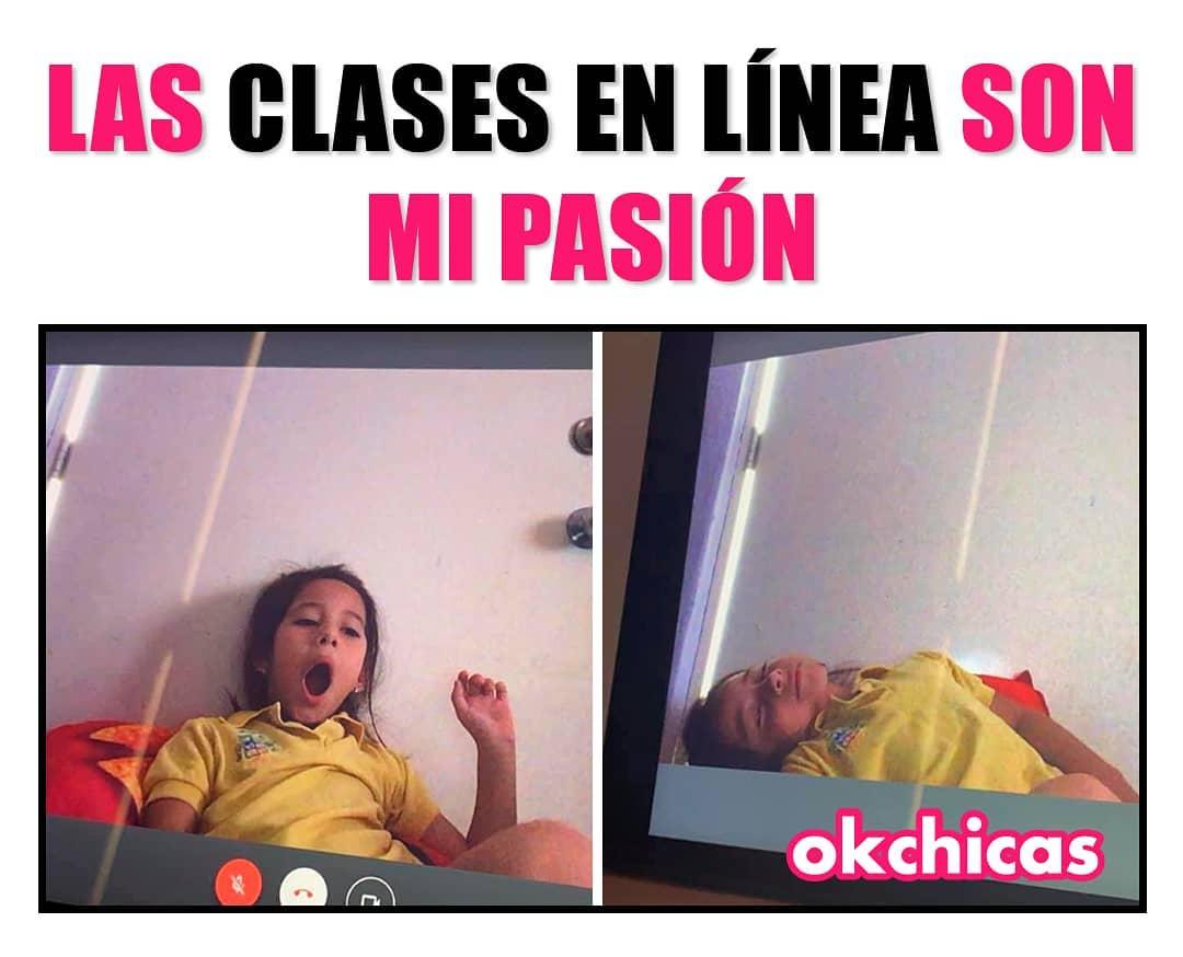 Las clases en línea son mi pasión.