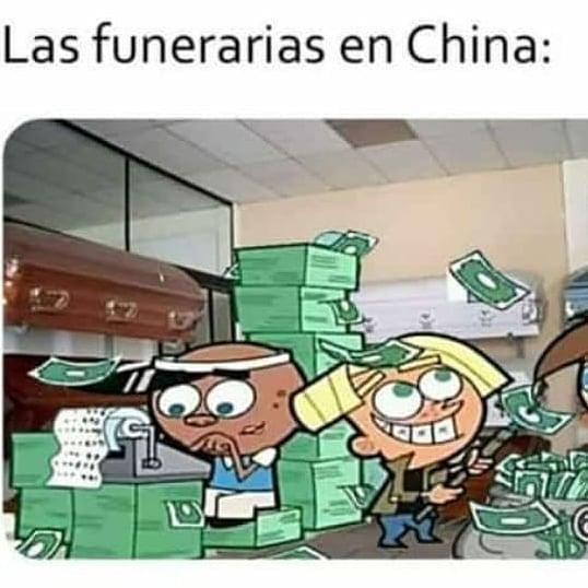 Las funerarias en China: