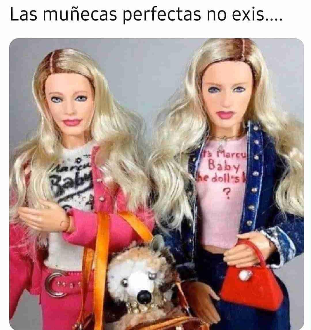Las muñecas perfectas no exis...