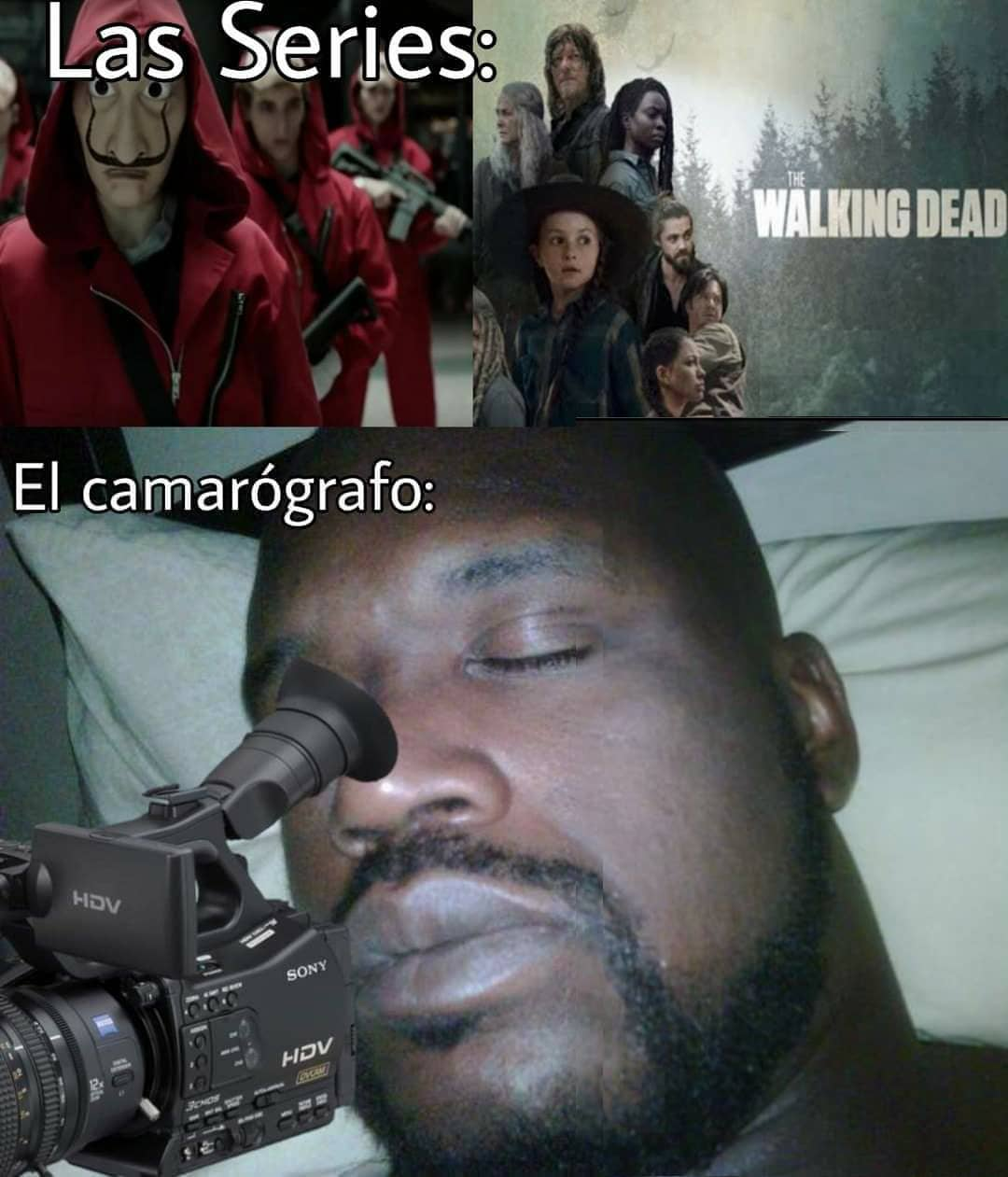 Las series: El camarógrafo: