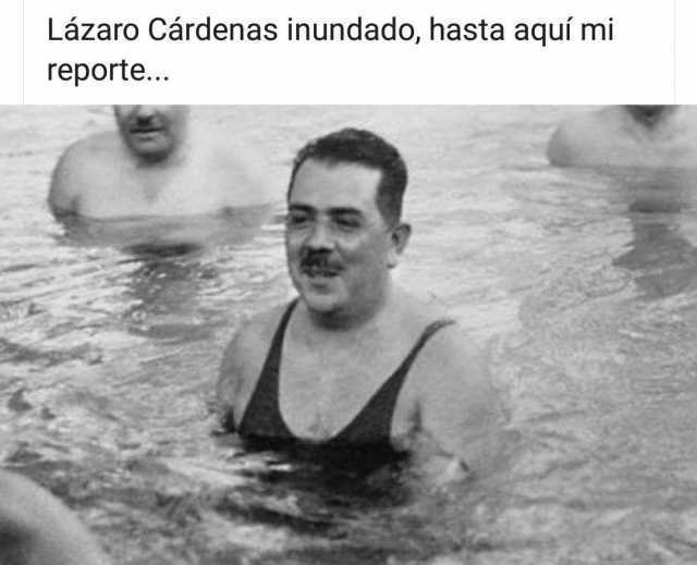 Lázaro Cárdenas inundado, hasta aquí mi reporte...