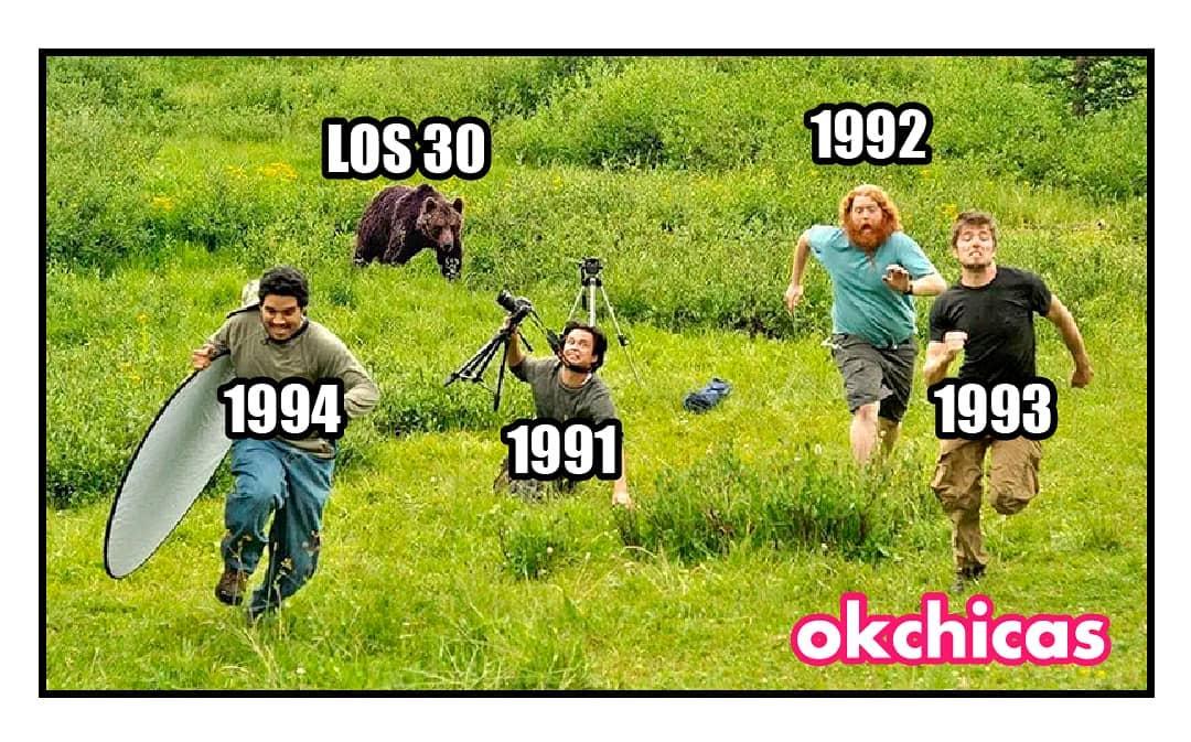 Los 30 1994 1991 1993 1992.