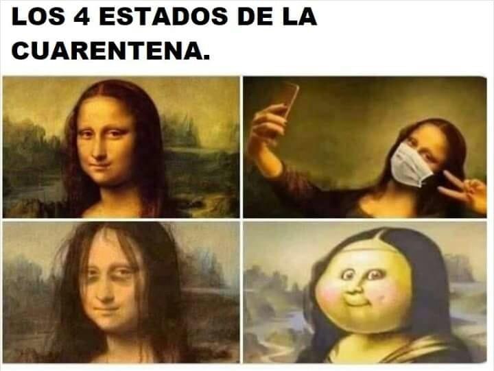 Los 4 estados de la cuarentena.