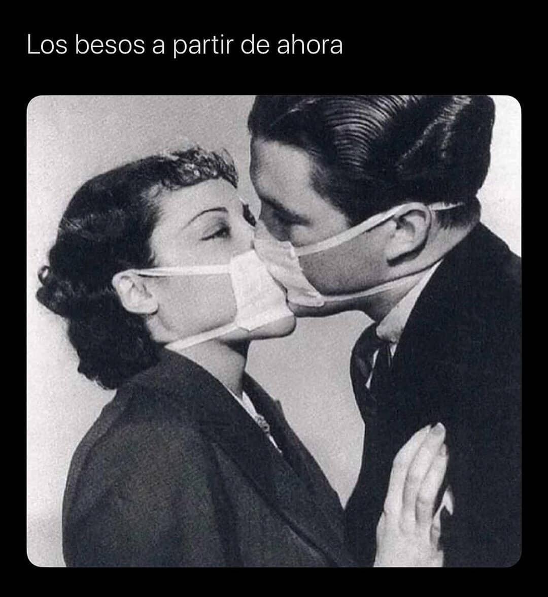 Los besos a partir de ahora.
