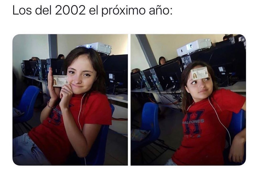 Los del 2002 el próximo año: