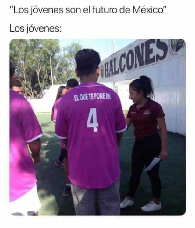 """""""Los jóvenes son el futuro de México"""".  Los jóvenes:"""