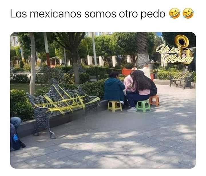 Los mexicanos somos otro pedo.