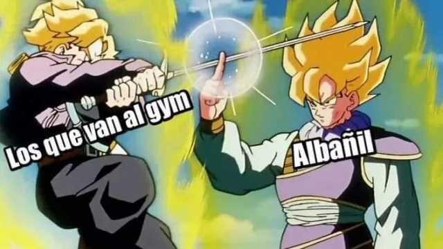 Los que van al gym. Albañil.