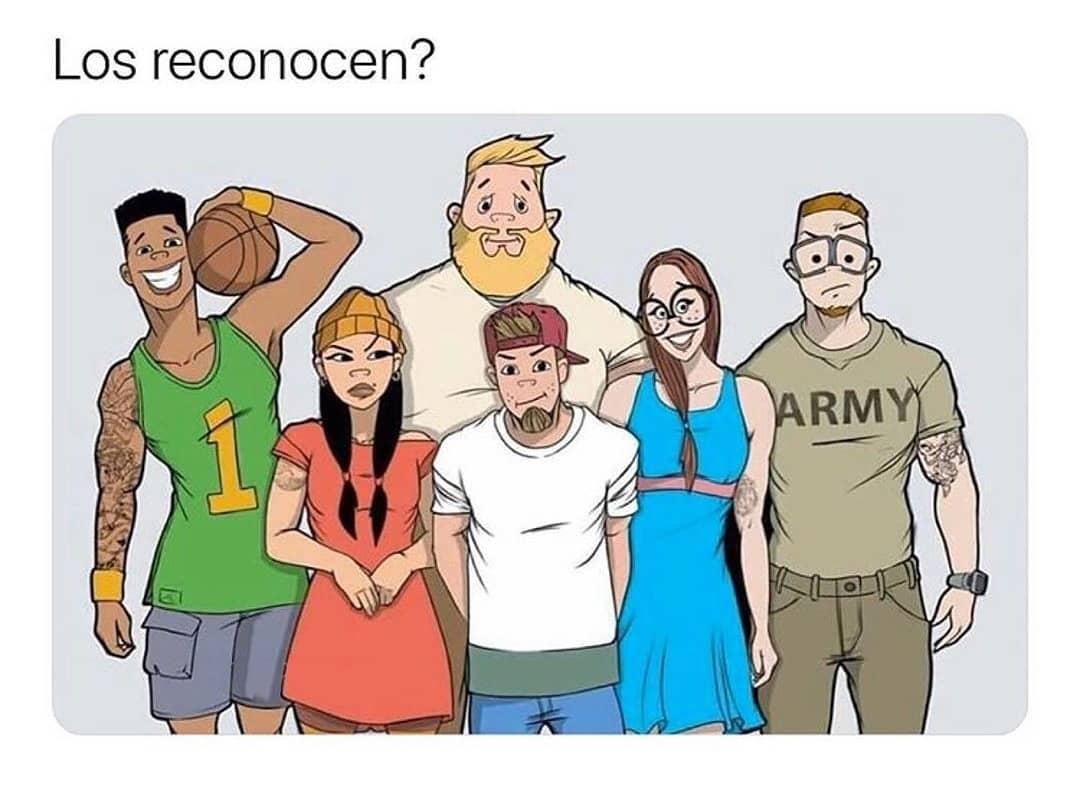 Los reconocen?