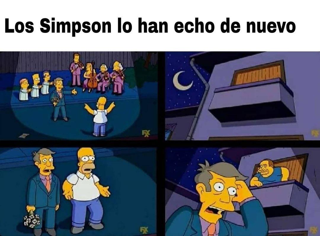 Los Simpson lo han echo de nuevo.