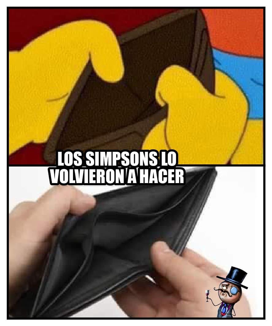 Los Simpsons lo volvieron a hacer.