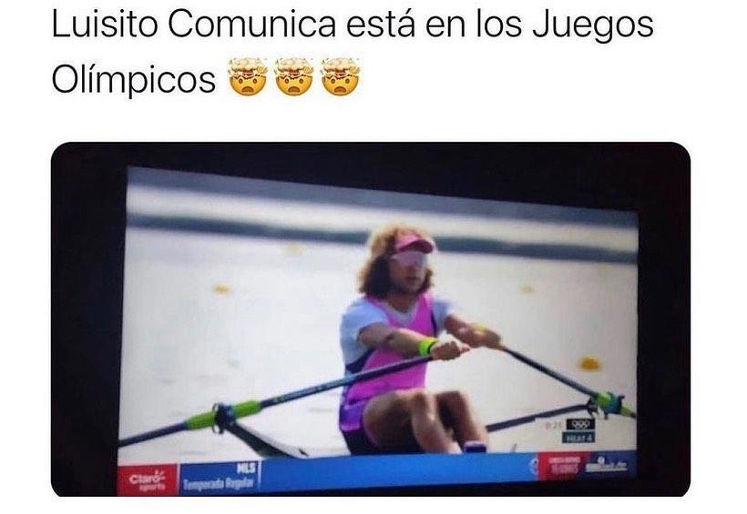 Luisito Comunica está en los Juegos Olímpicos.