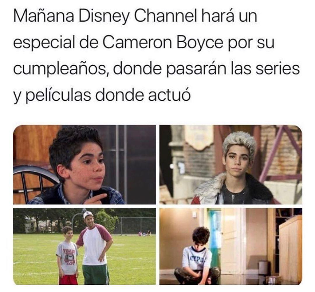 Mañana Disney Channel hará un especial de Cameron Boyce por su cumpleaños, donde pasarán las series y películas donde actuó.