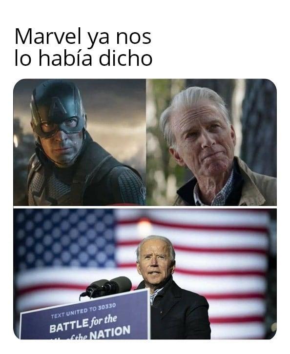 Marvel ya nos lo había dicho.