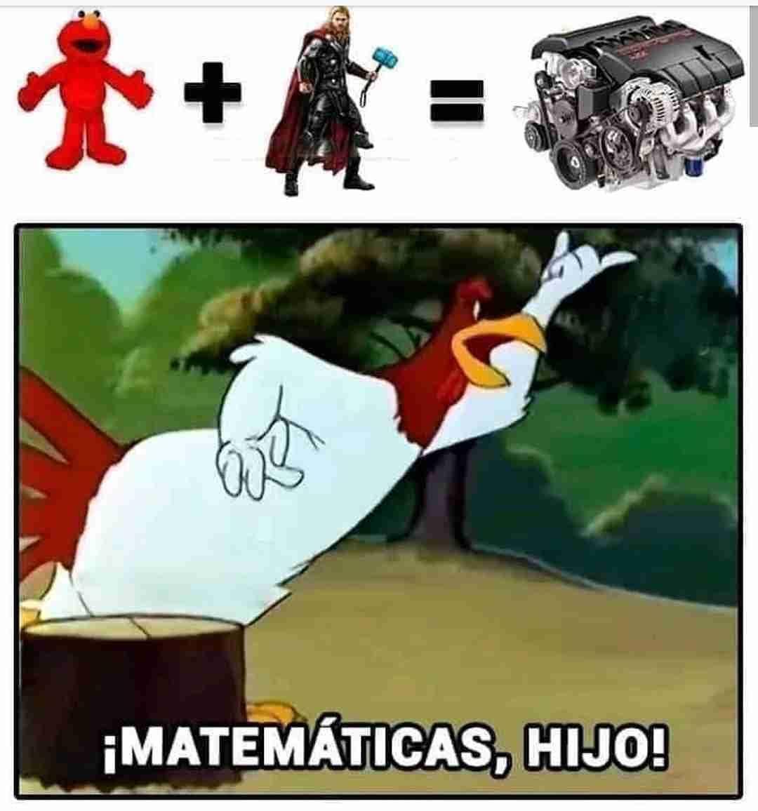 ¡Matemáticas, hijo!