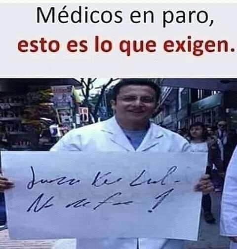 Médicos en paro, esto es lo que exigen.