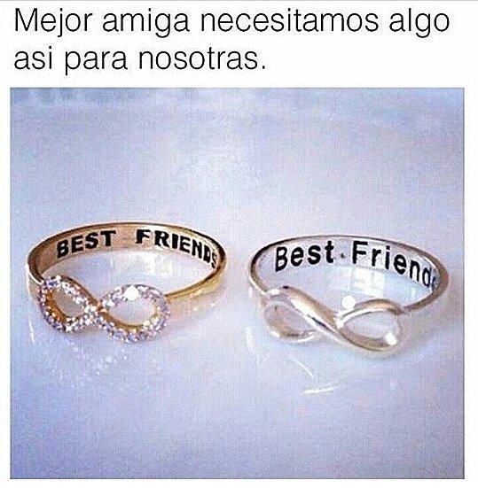 Mejor amiga necesitamos algo asi para nosotras.