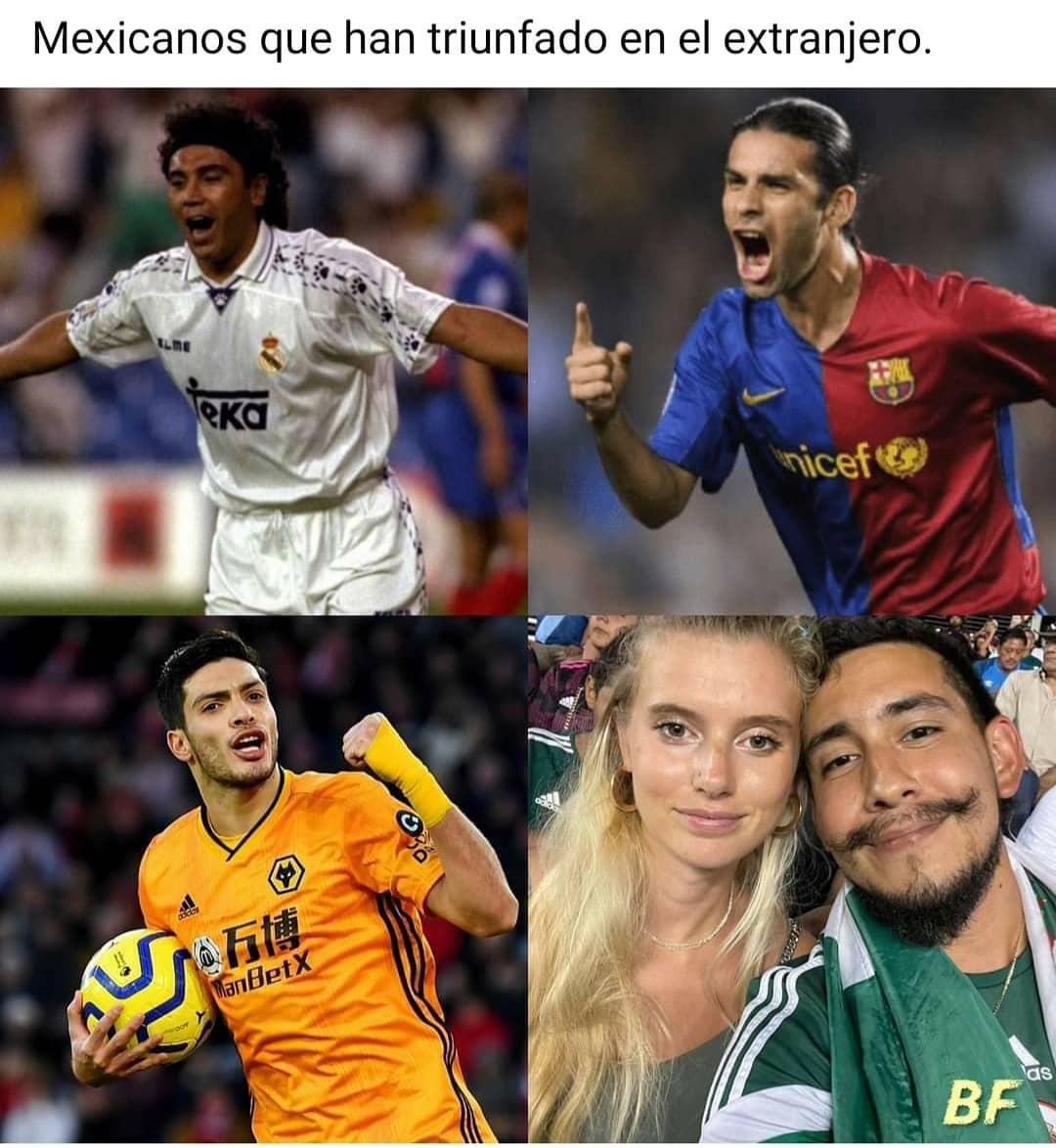 Mexicanos que han triunfado en el extranjero.